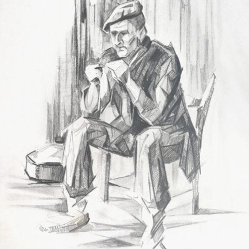Baserritarra. Jose Kareaga