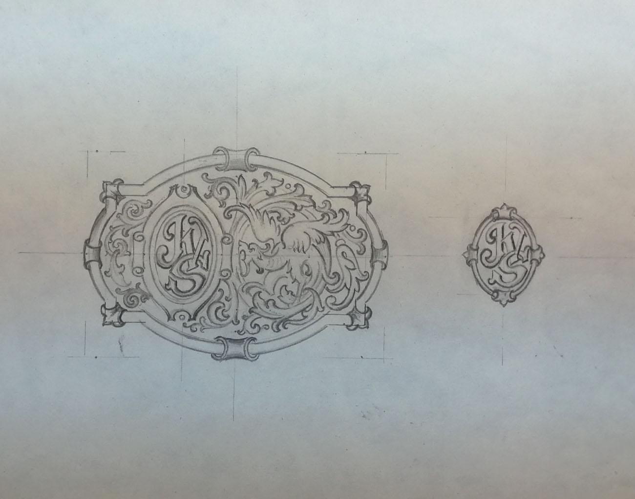 Boceto Hebilla Ane 2