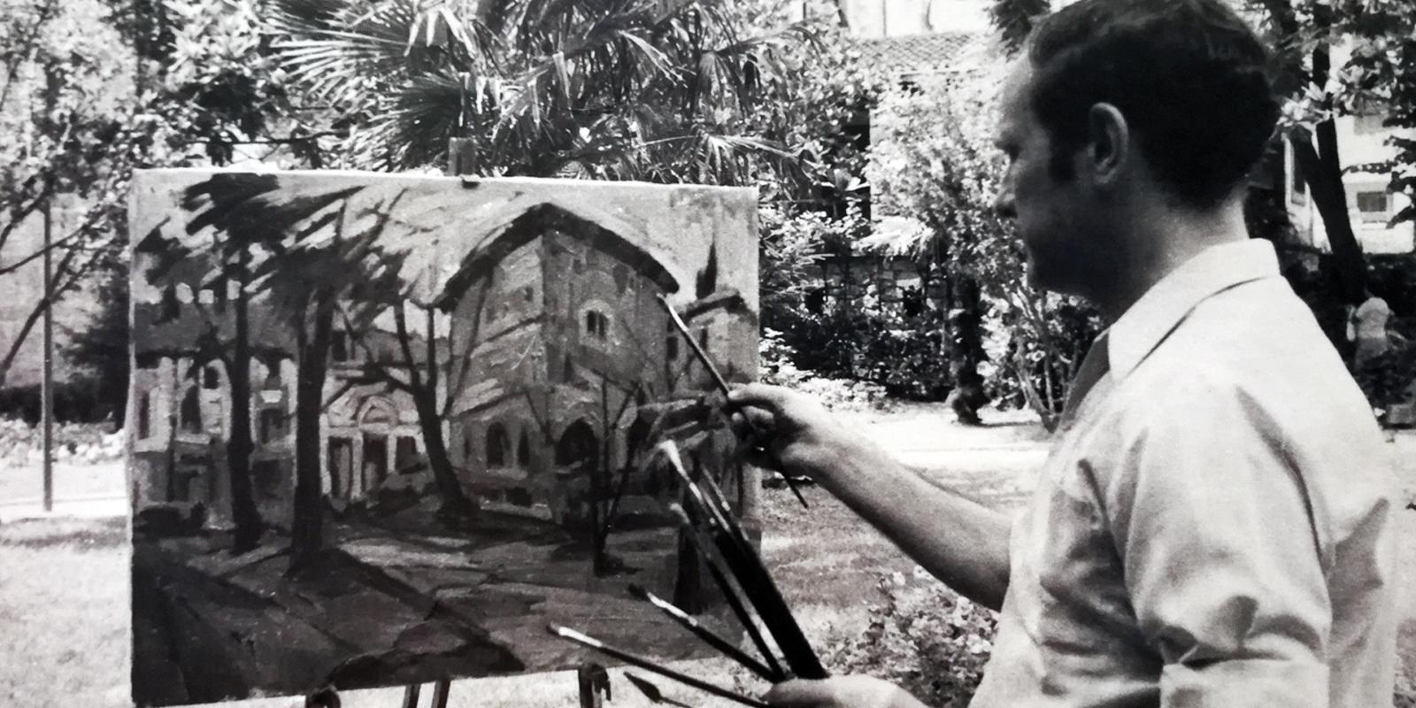Jose Kareaga. Pintura, Inicios