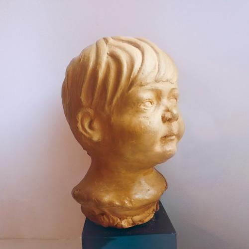 Modelado escayola II. Jose Kareaga