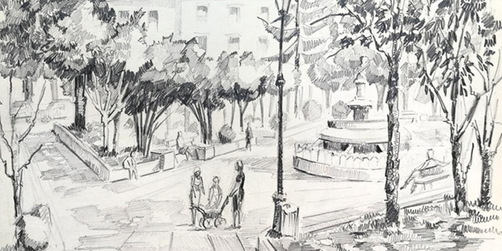 Zuloaga Plaza. Jose Kareaga
