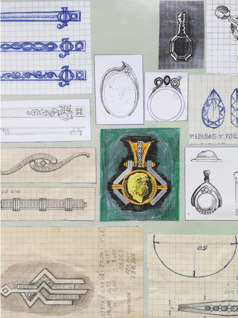 Estudio de iniciales I. Jose Kareaga