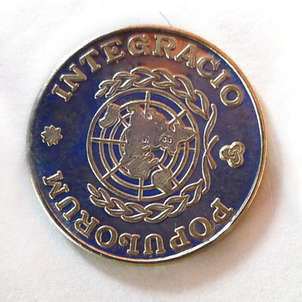Moneda conmemorativa IV. Jose Kareaga