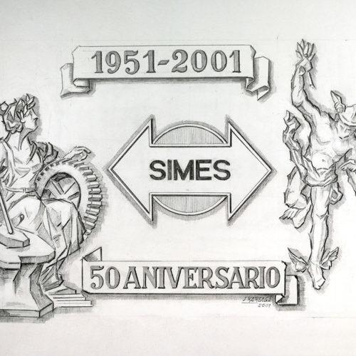 Boceto Placa. Jose Kareaga